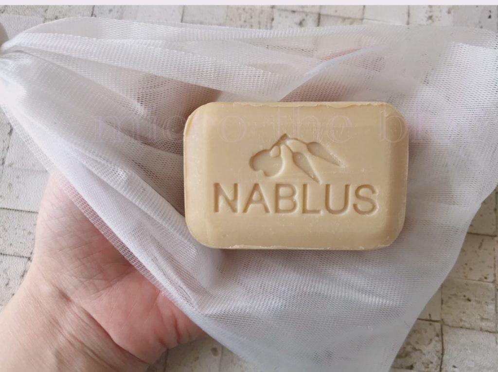ナーブルスソープの使用方法