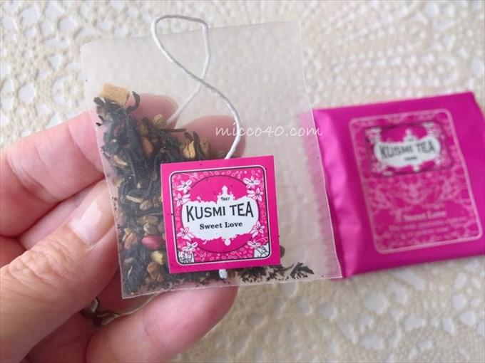 クスミティーの茶葉は本格的なハーブ