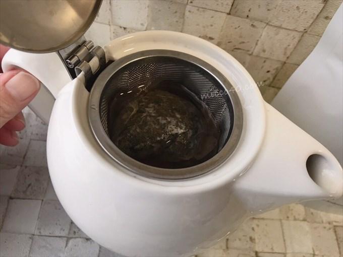 プーアール茶・茶流痩々の急須での入れ方