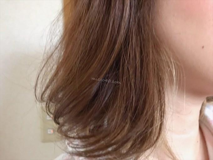 アラフォーの髪の毛はパサパサ