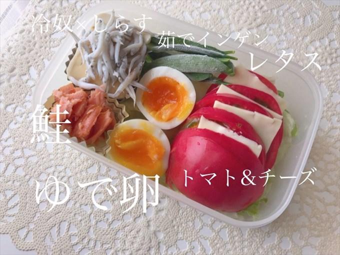 持ち歩きダイエット弁当0602