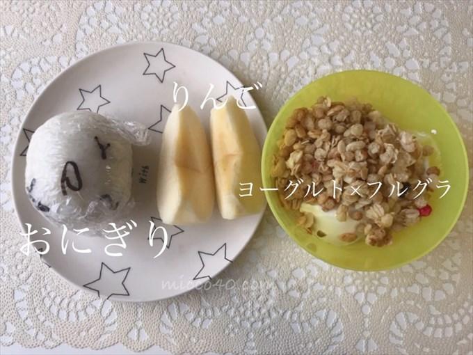 定番の朝ご飯