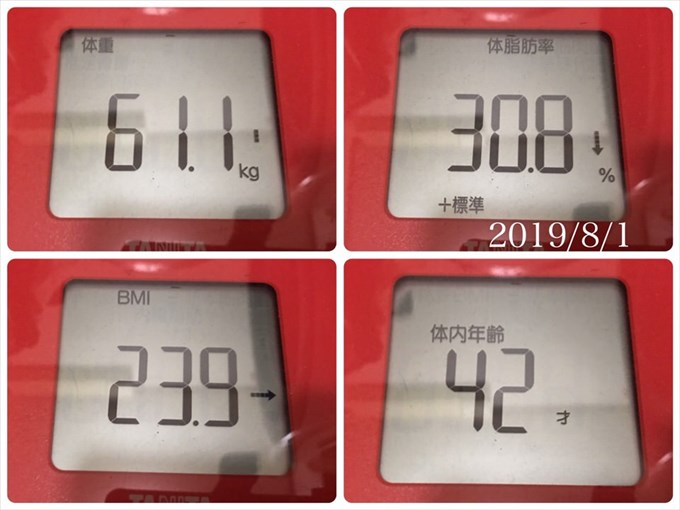 20190801体重体脂肪