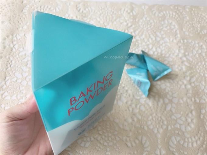 エチュードハウスベーキングパウダーのパッケージ